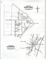 Map Image 017, Kenosha and Racine Counties 1986